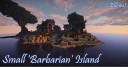 Small 'Barbarian' Island Minecraft Map & Project