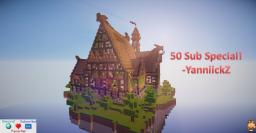 50 Sub Special || 10 Diamonds? || 250 views? || Download || Minecraft Map & Project