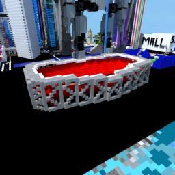 Bird's Nest Stadium Minecraft