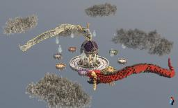 Dragon Twins | Skywars map Minecraft Project