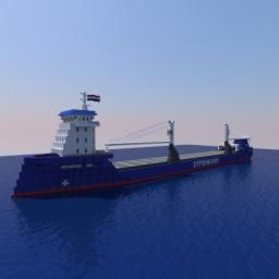 SYMPHONY SKY (Cargo Ship) Minecraft Map & Project