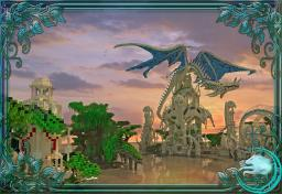 Dragon spawn of the water temple by Katariawolf +Map download Minecraft Project