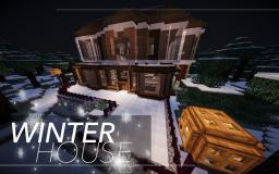 Winter House Minecraft