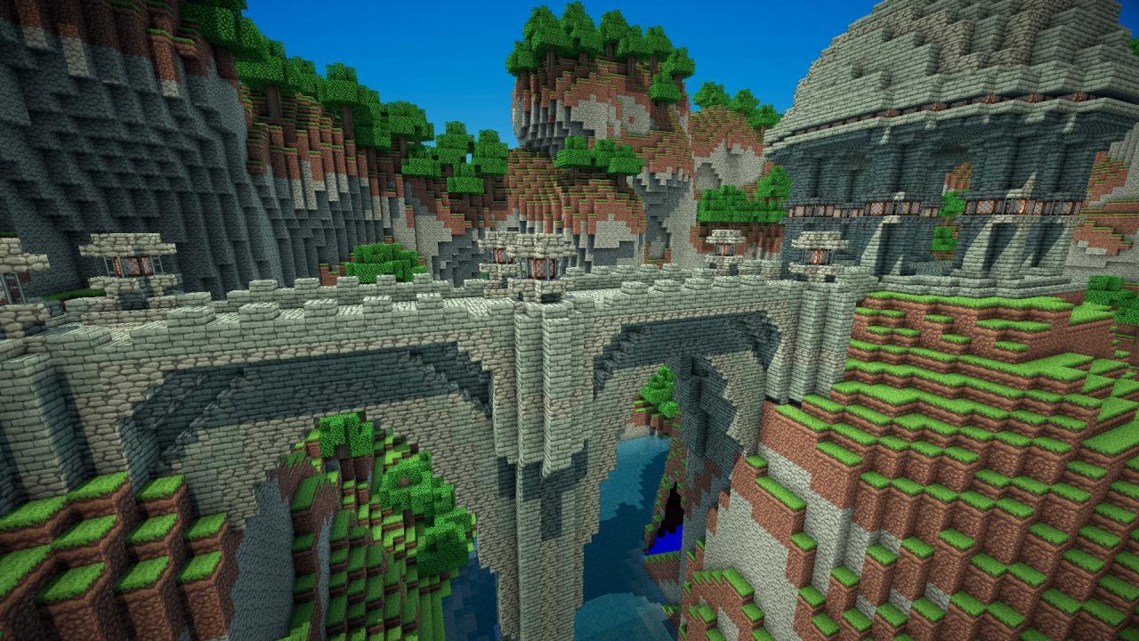 База карт на Замки и Крепости для Майнкрафт
