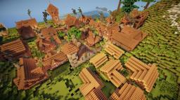 Chéile dorcha village Minecraft Map & Project