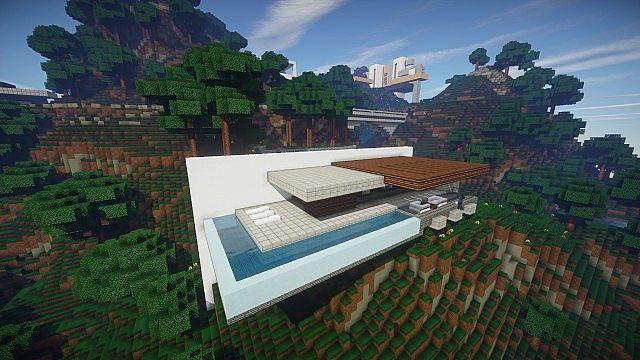 Hillside Post Modern House Wok on Modern Houses Built Into Hillsides