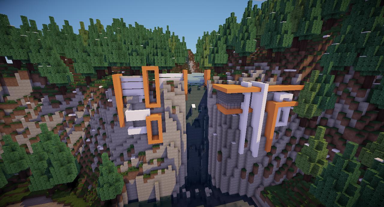 Minecraft Modern Cliff House 2 Minecraft Project