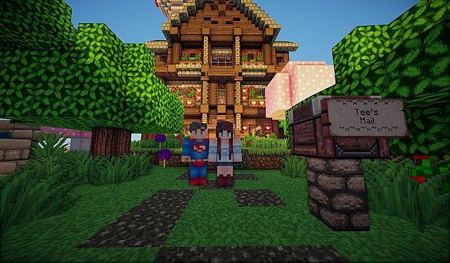Tee* Cute House Build