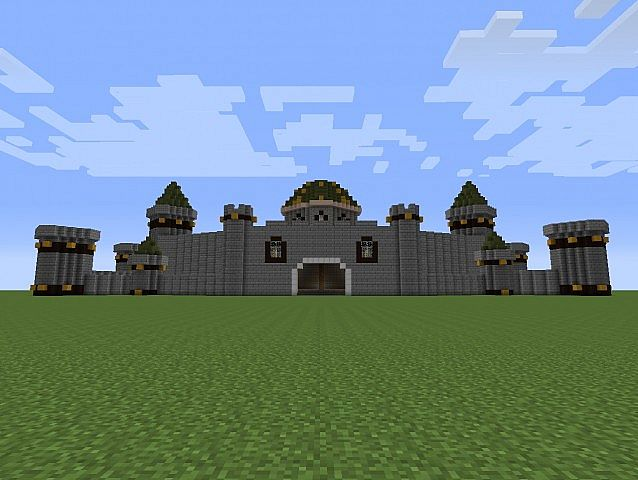 Bowser S Castle Minecraft Project