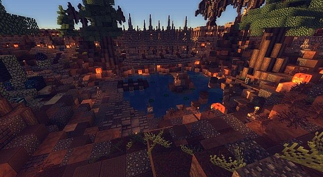 Halloween Themed Factions Spawn Minecraft Project