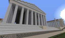 Temple of Venus and Roma Minecraft Map & Project