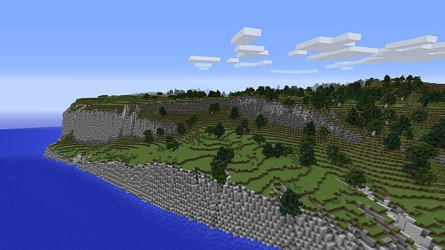 Cliffs of dover realistic terrain minecraft project 5 diamonds sciox Image collections