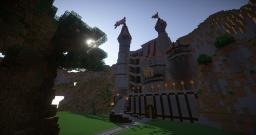 Erste Burgbau Versuche :) Minecraft Map & Project