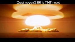 Destroyer256´s TNT mod 1.6.2  -  Over 60 new bombs! Minecraft Mod