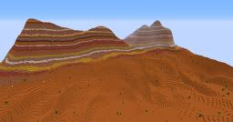 Canyon Terrain Minecraft Project