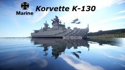Korvette K-130 (german navy) Minecraft Map & Project