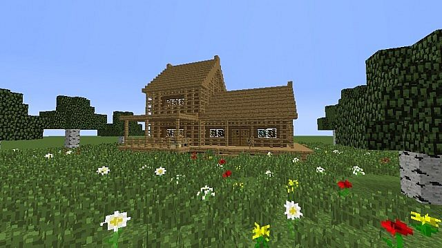 Good Small Wooden House Minecraft Map