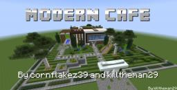Modern Cafe and Grill  [1.7+] Minecraft Map & Project