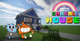 Amazing World of Gumball: House Minecraft Map & Project