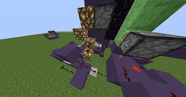 Minecraft Piston Door 3x3 3x3 Piston Door With Slime