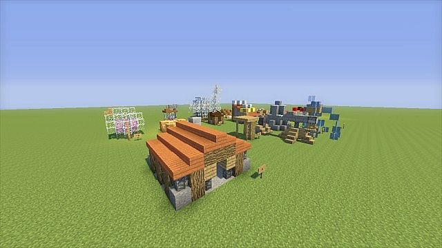 How To Build Clash Of Clans In Minecraft