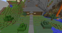 Minecart station - 6 Directions - automatic minecart refiller Minecraft Map & Project