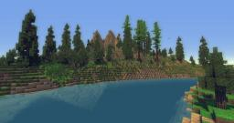 Mountains? Trees? O_O Minecraft Map & Project