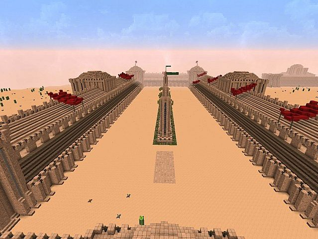 Middle eastern hippodrome Minecraft Project