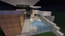 Gr33n-Modern House Minecraft Project