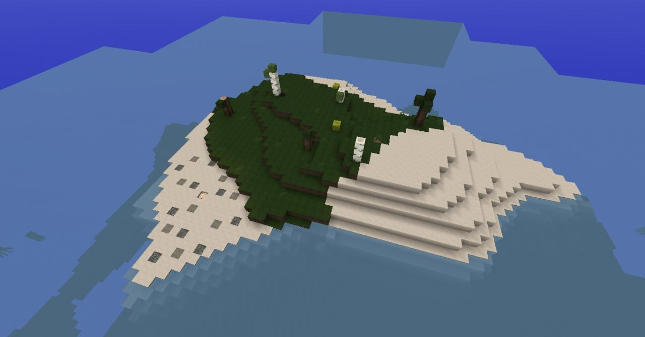 end of the world island Minecraft Project