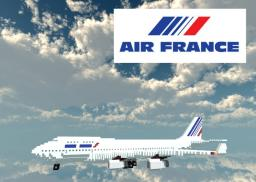 Air France 747-400 Minecraft Map & Project
