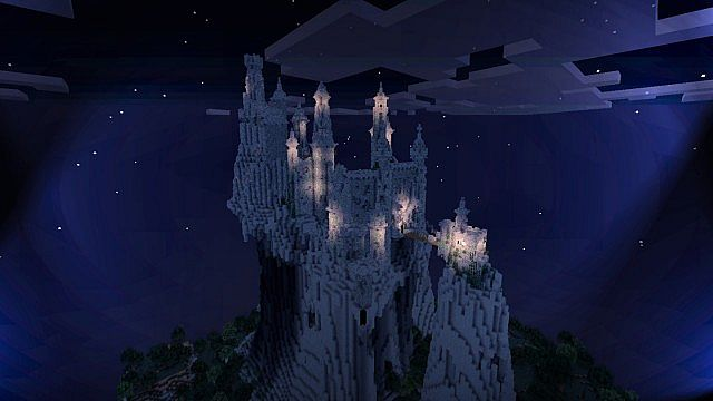maleficents castle le ch226teau de mal233fique minecraft