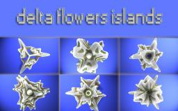 delta flowers islands Minecraft Map & Project