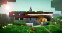 Low - Modern home [PopReel] Minecraft Project