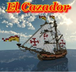 Spanish Brigantine: El Cazador Minecraft Project