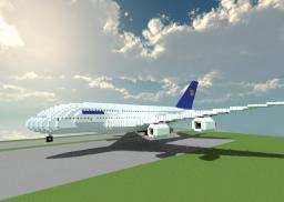 Airbus a380 - Lufthansa Minecraft Map & Project