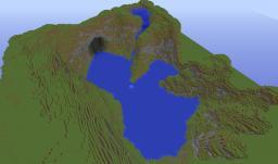 Cliffside landscape - Danton15h - Minecraft Map & Project