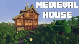 Medieval House Tutorial Minecraft Map & Project
