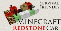 Minecraft Redstone Car [Snapshot 14w18b] Minecraft Map & Project
