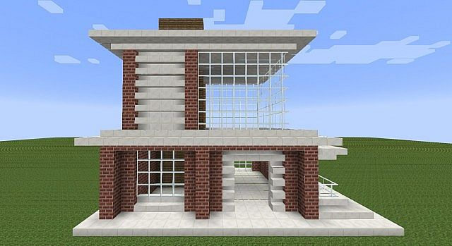 Modern House Shop Minecraft Project