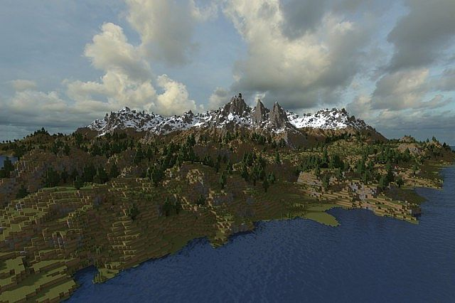 bd3e31ff5 Realistic custom terrain] Northern landscape Minecraft Project