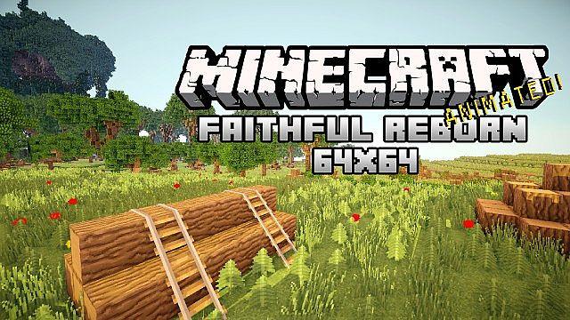 1.7.0-14w19a Faithful : Reborn Animated! (64x64) {v.7.5} Minecraft Texture Pack