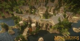 Mine of the Rings: Rivendell Minecraft Map & Project