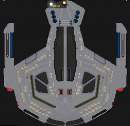 U.S.S. Saber - Star Trek Minecraft