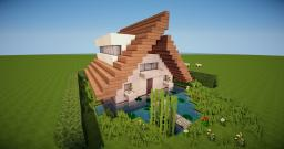 Tringer | A frame-minimalist modern house Minecraft Map & Project