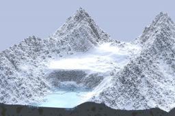 Custom Terrain - Glacial Valley Minecraft Map & Project