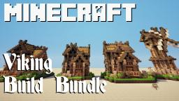 Build Bundle: Viking Town Minecraft Map & Project