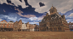 Delft Rebuild :) (my home town) PART1 Minecraft Map & Project