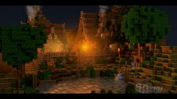 Medieval Houses - Rendered Wallpapers Minecraft Map & Project