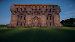 Medieval Wall Design Minecraft Map & Project